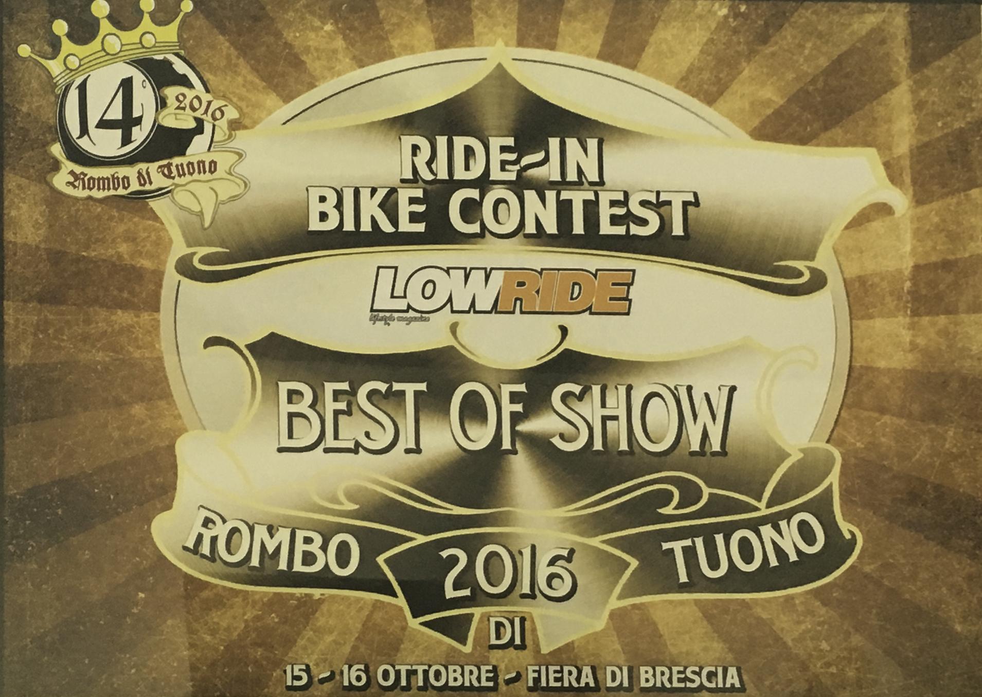 VMcycles LowRide Rombo di Tuono